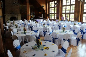 One dollar chair covers wedding chair and sash rental